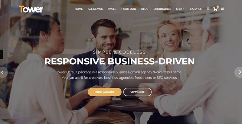 Темы башни wordpress создать сайт компания стартап агентство sme