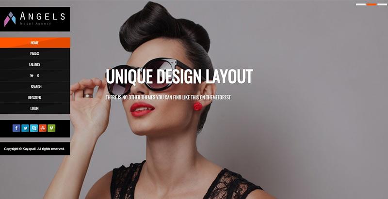 Angels themes wordpress creer site web top model mode