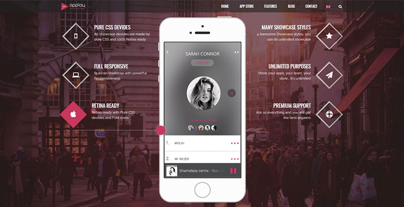 Applay themes wordpress creer site web entreprise technologique