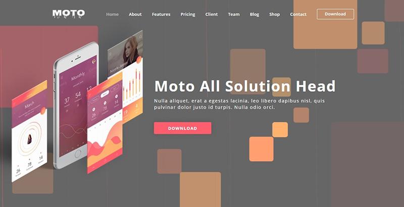 Moto themes wordpress creer site web entreprise technologique