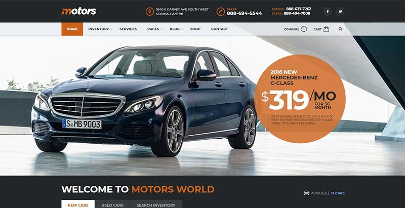 Motors demo concessionnaire auto