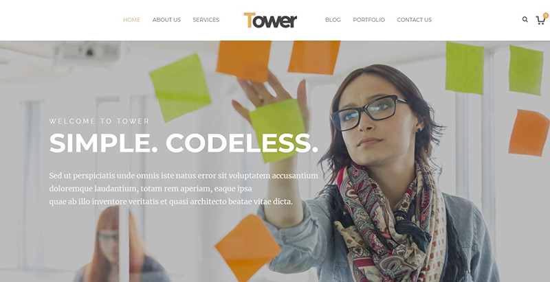 Tower themes wordpress creer site internet pme entreprise startup