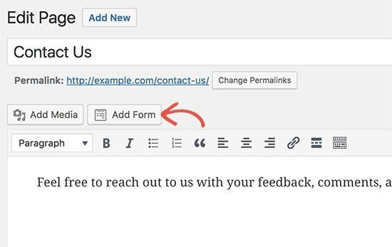 crear una página de contacto de wordpress wpforms.png