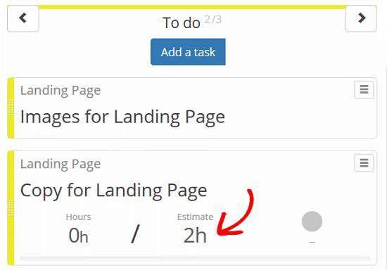 Kanban-Boards-for-WordPress-Plugin-Définir une estimation.png
