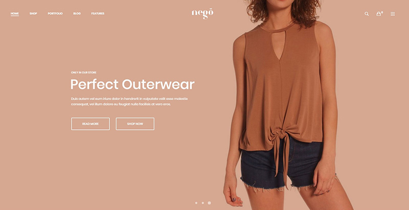 Nego themes woocommerce creer site ecommerce wordpress boutique en ligne