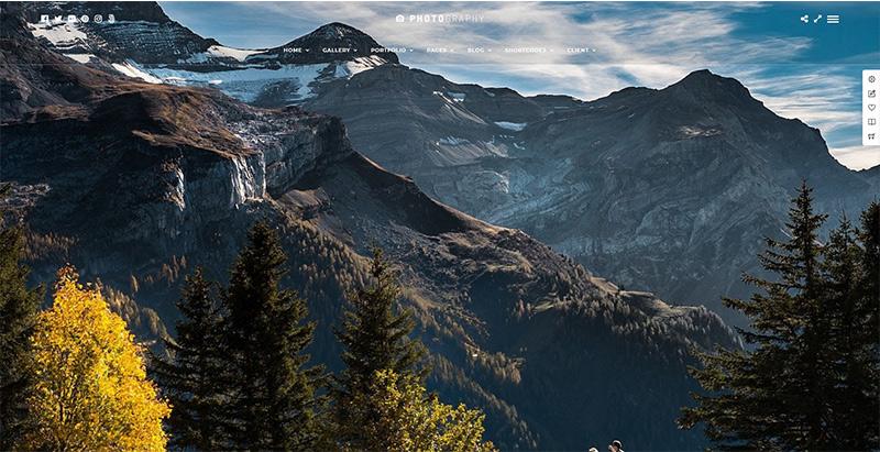 Photography themes wordpress creer site web photographe creative