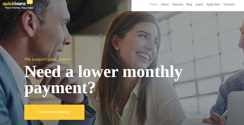 Quickloans Themes Wordpress Creer Site Web Cabinet Expertise Comptable