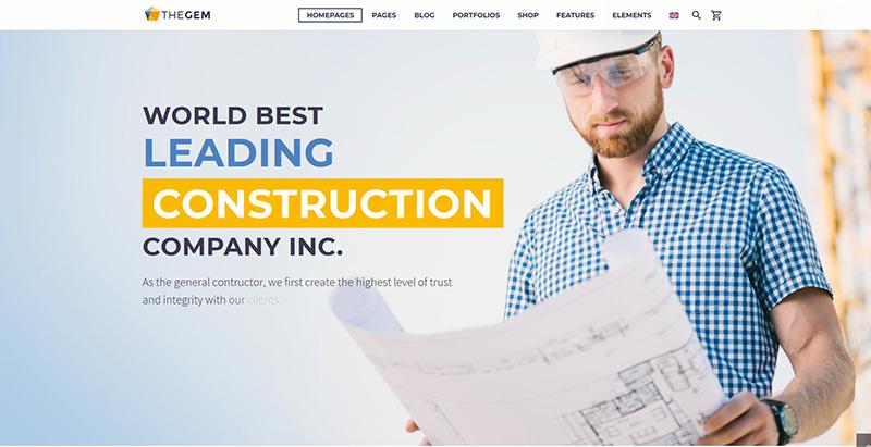 Avxbuilder themes wordpress creer site web entreprise construction architecture