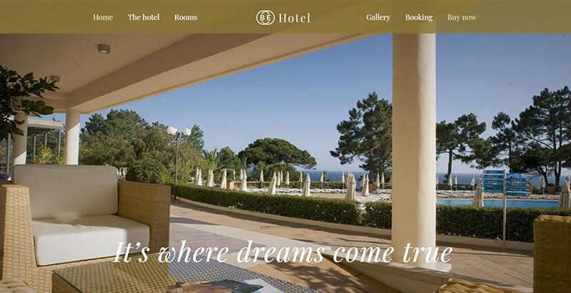 Betheme themes wordpress creer site internet hotel motel spa
