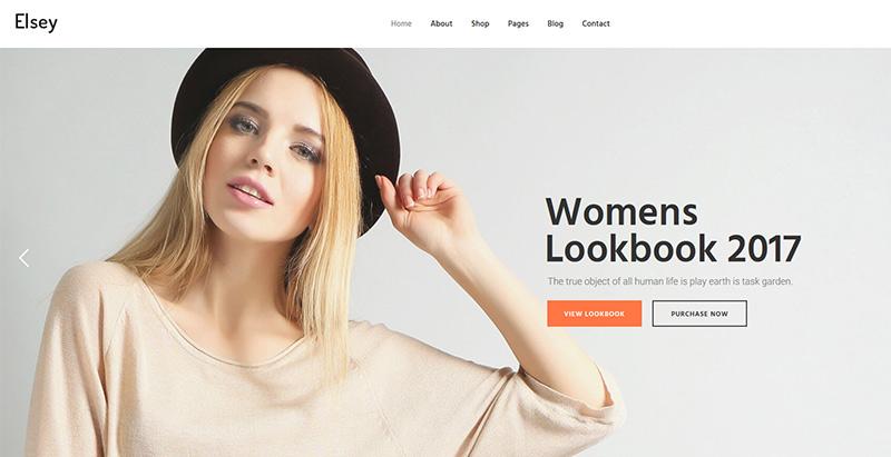 Elsey themes wordpress creer site internet e commerce boutique en ligne