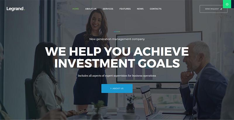 Legrand themes wordpress creer site web cabinet expert comptable