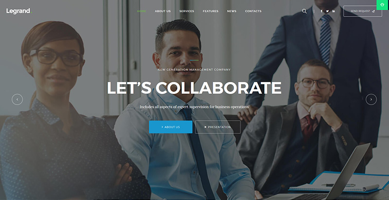 Legrandthemes wordpress creer site internet avocat procureur notaire