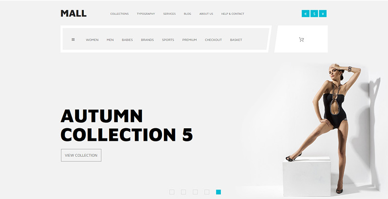 Mall themes wordpress creer site web e commerce boutique en ligne store