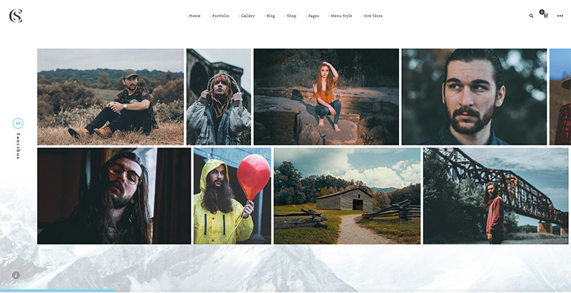 Thecs themes wordpress creer site internet agence photographe