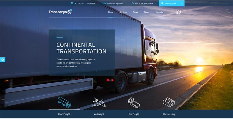 10 WordPress Themes to Create a Logistics Business Website   BlogPasCher