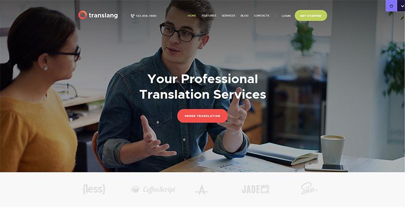 Translang themes wordpress creer site internet e learning