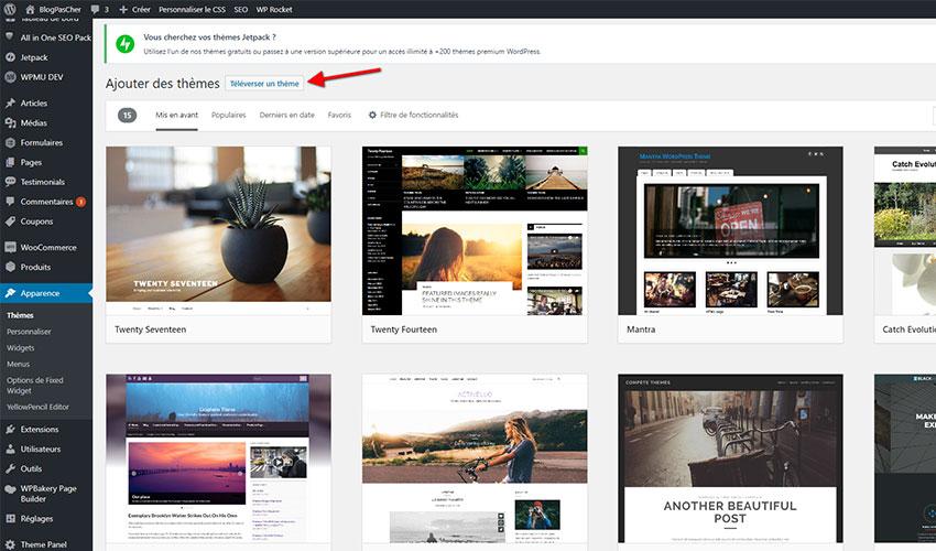 Hur man skapar en wordpress-blogg installerar enkelt tema
