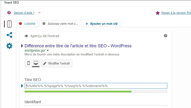 Ttire seo wordpress