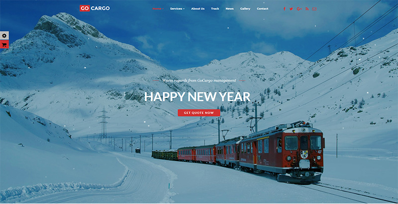 Gocargo themes wordpress creer site web agence entreprise transports