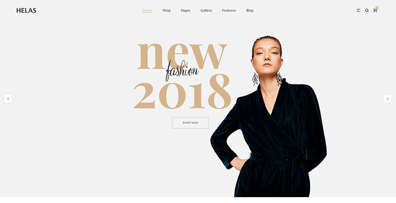 Helas themes wordpress creer boutique ligne shop store