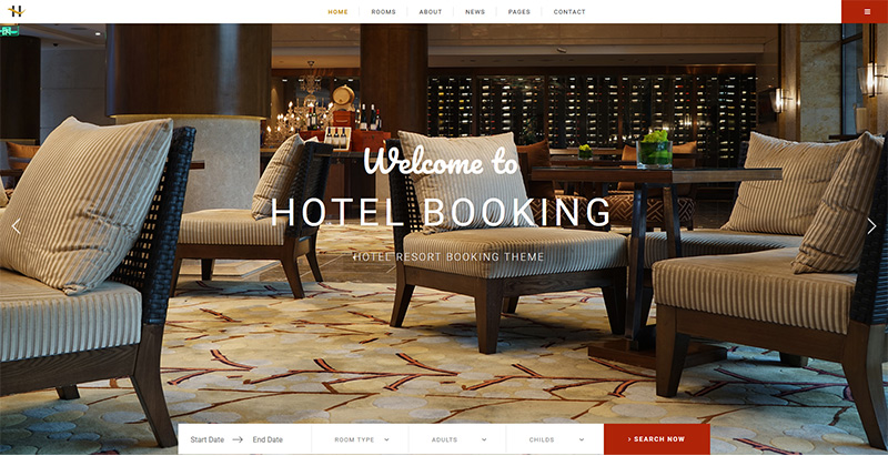 Houston themes wordpress creer site internet hotel motel auberge