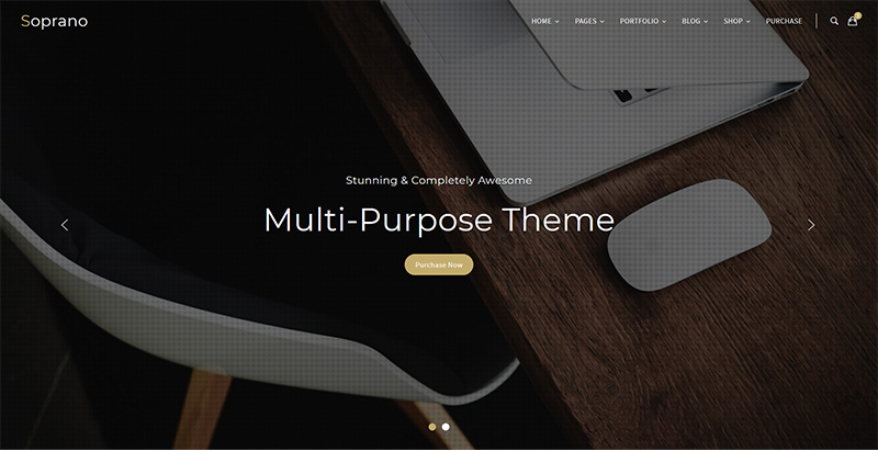 Soprano Themes Wordpress Polyvalents Creer Site Internet