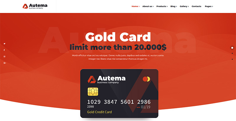 Autema themes wordpress creer site web pme entreprise startup