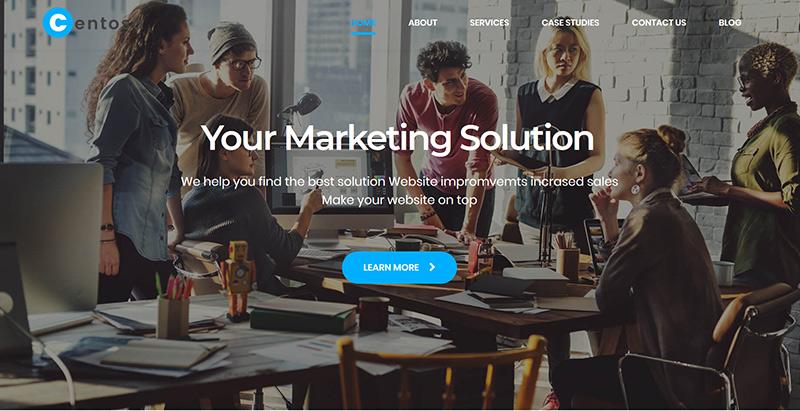 10 WordPress Themes zum Erstellen Ihrer KMU-Website | BlogPasCher