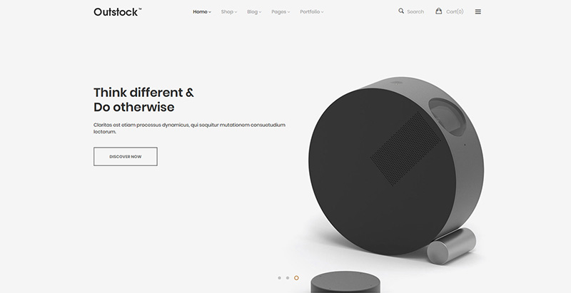 Outstock themes wordpress creer site internet ecommerce boutique en ligne