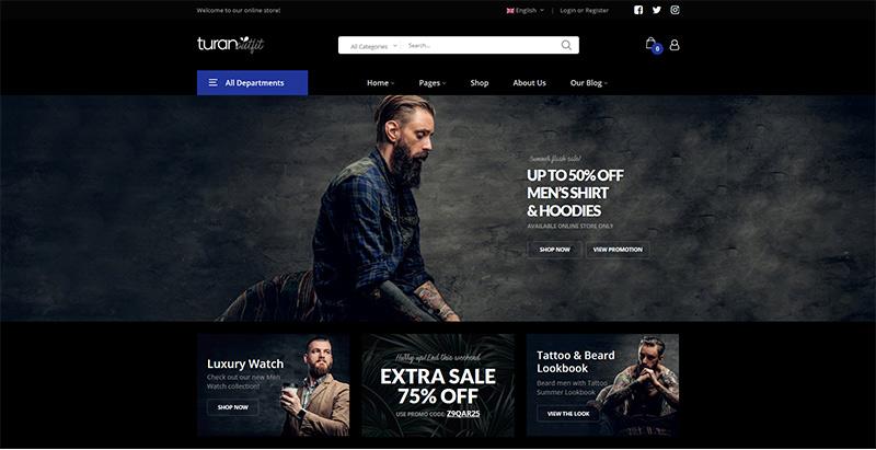 Turan themes wordpress woocommerce creer site web e commerce