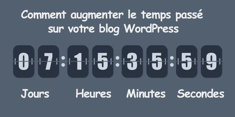 Comment augmenter temps passe blog wordpress temps visite 2 e1572087003452
