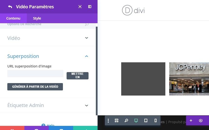 konfigurasi video individu. jpeg