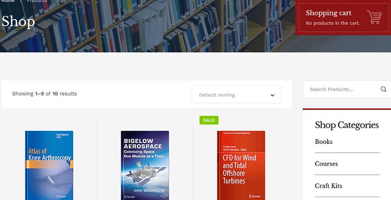 Shop critique theme wordpress premium smarty elearning