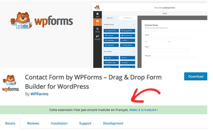 traduction wp forms plugin WordPress.png