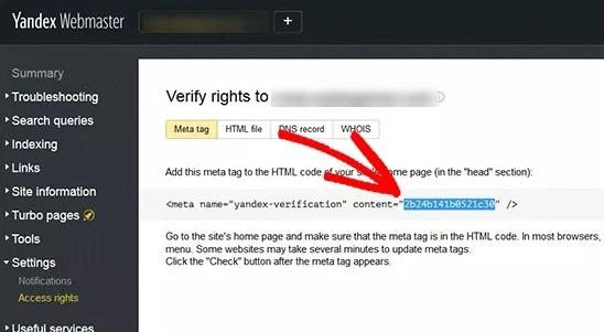 web sitesi doğrulama yandex.jpeg