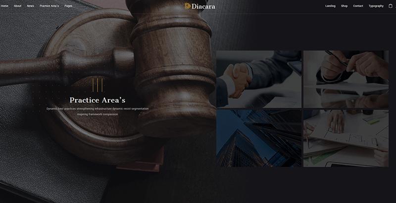 créer un site web d'entreprise - Diacara themes wordpress creer site internet entreprise compagnie startup