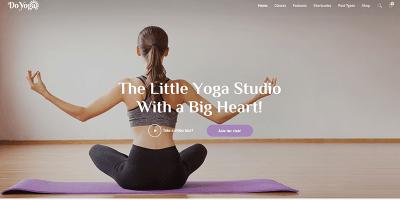 Do Yoga Themes Wordpress Creer Site Internet Club Yoga