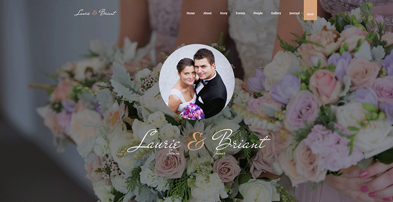 Lovus themes wordpress creer site web ceremonie mariage evenement
