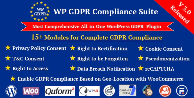 Wp gdpr compliance suite wordpress plugin wordpress