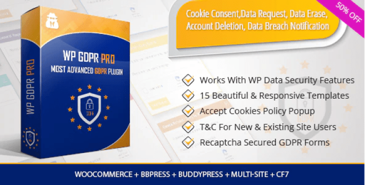 Wp gdpr pro most advanced gdpr plugin wordpress