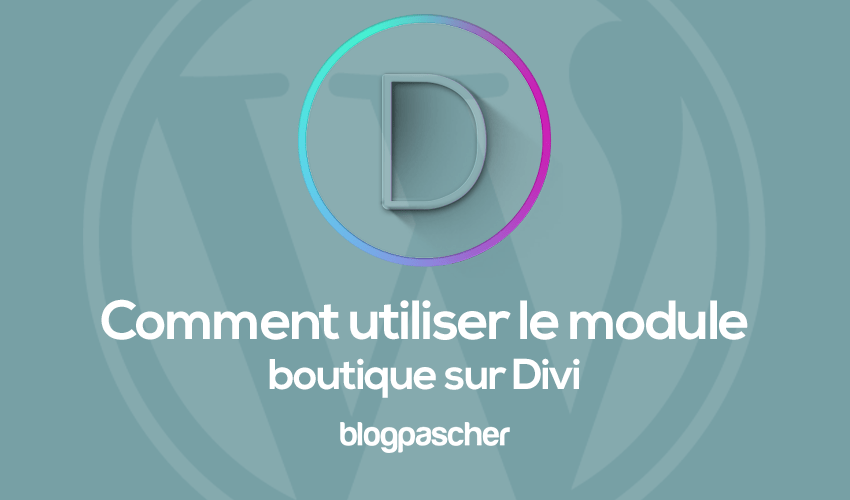 How to use the store module on divi