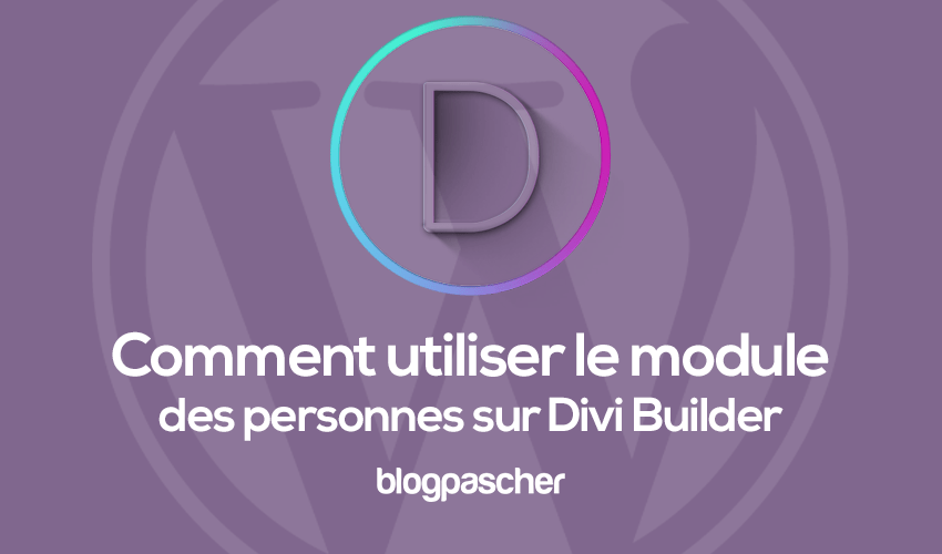How to use the people module on divi