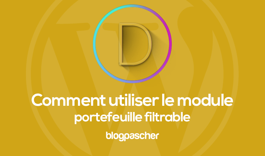 Hoe de filterbare portemonnee-module te gebruiken