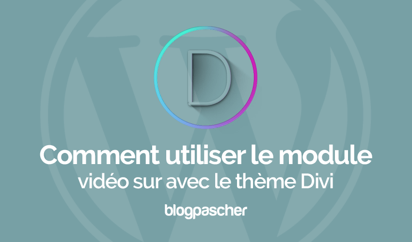 How to use the video module on divi