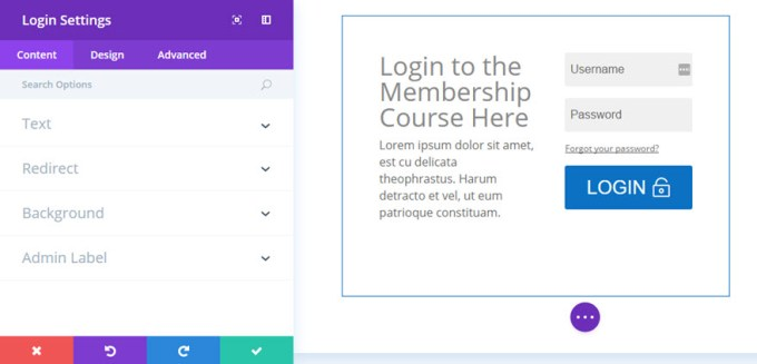 example of login page divi.jpg