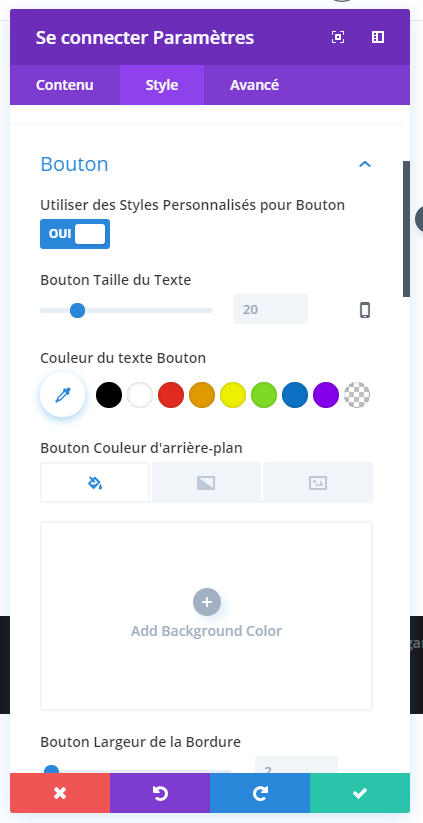 using the buttons divi module connection.png