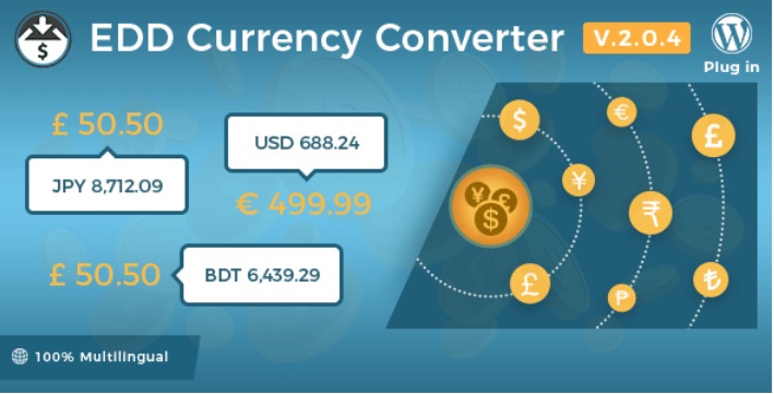 Currency converter plugins easy digital downloads boutique ligne telechargements numerique