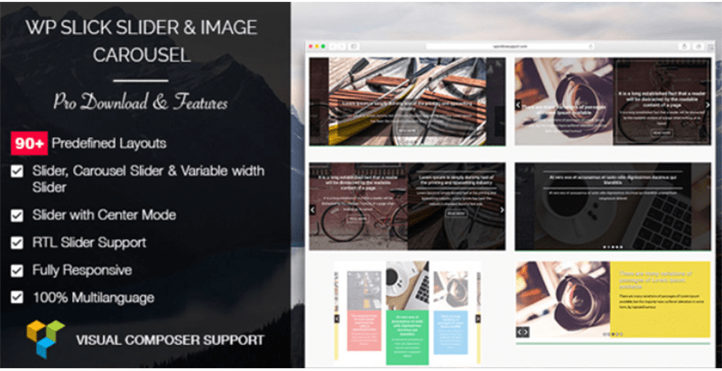 Wp slick slider and image carousel pro