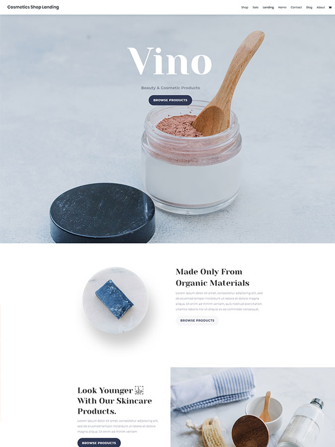 thème-wordpress-divi-créer-site-web-cosmétiqes-beauté