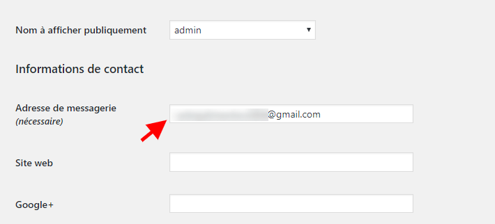 modifier une addresse email profile wordpress.png